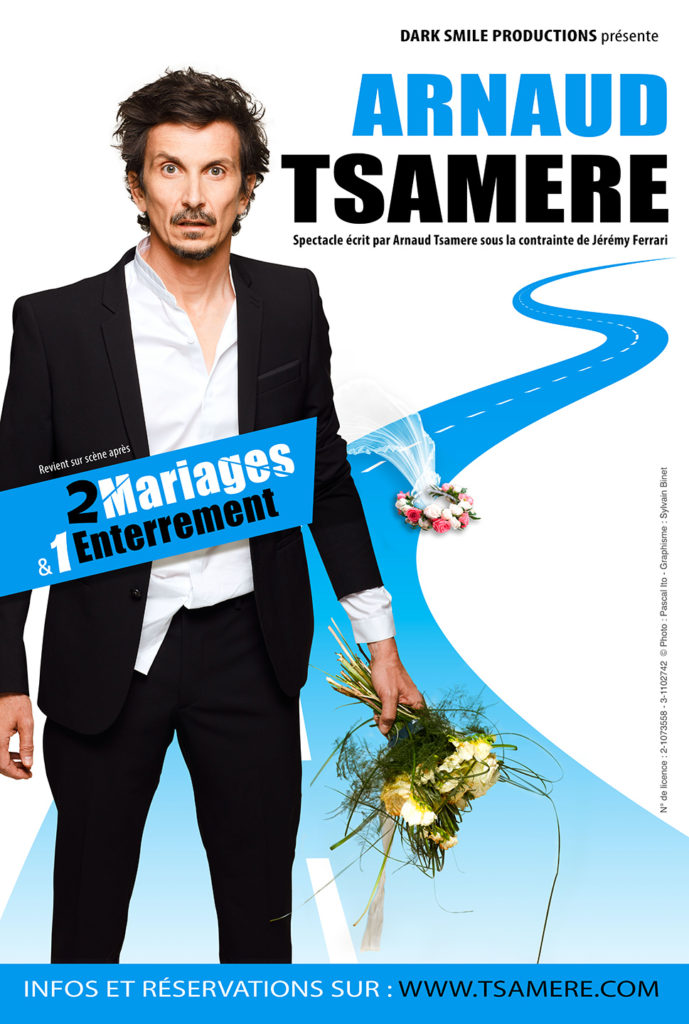 affiche Arnaud Tsamere